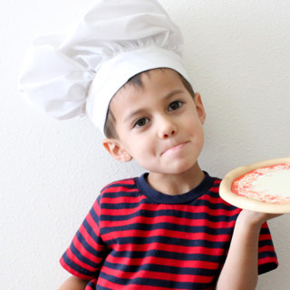 DIY Pizza Chef's Hat Tutorial
