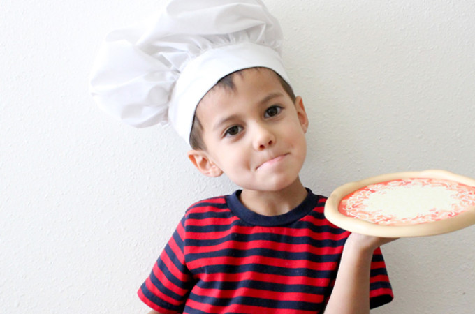 Sew a chef's hat with this free tutorial