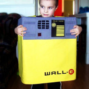 wall-e costume tutorial