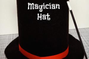 No Sew magician's hat tutorial