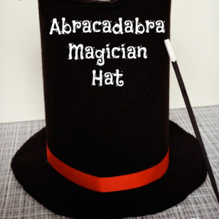 DIY Magician's Hat Tutorial NO SEW