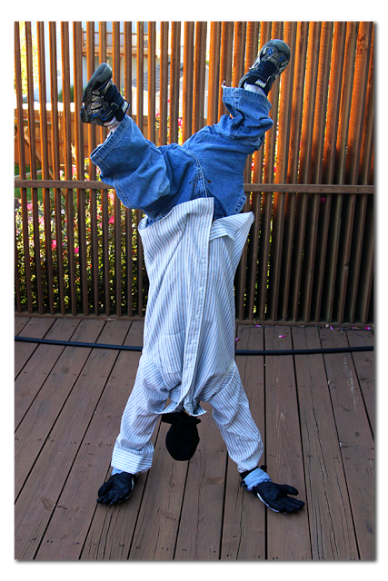 upside down man costume tutorial