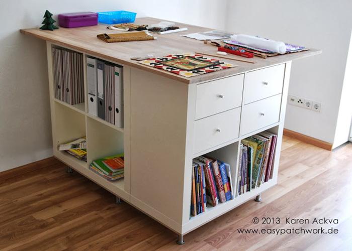 DIY cutting table - Ikea Hack