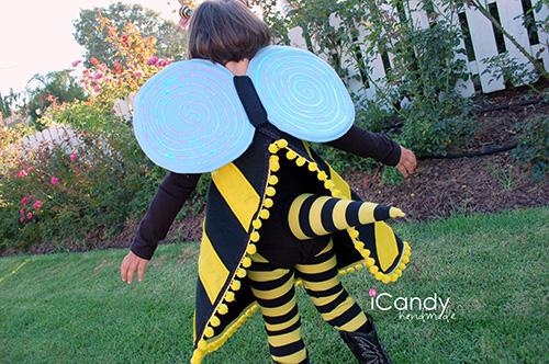 DIY bumblebee costume tutorial