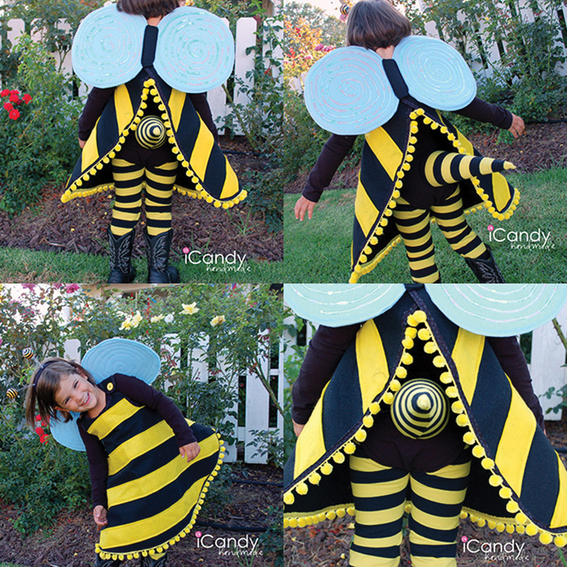Diy bumble bee costume tutorial solutioingenieria Choice Image
