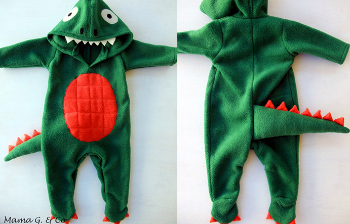 Dinosaur Costume Tutorial