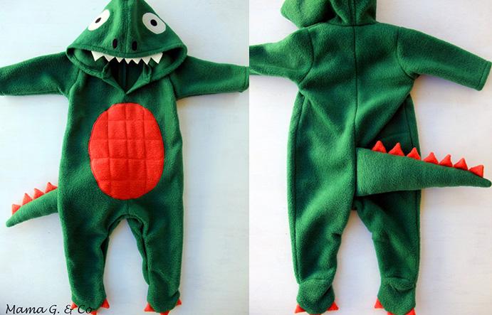 Dinosaur Costume Tutorial