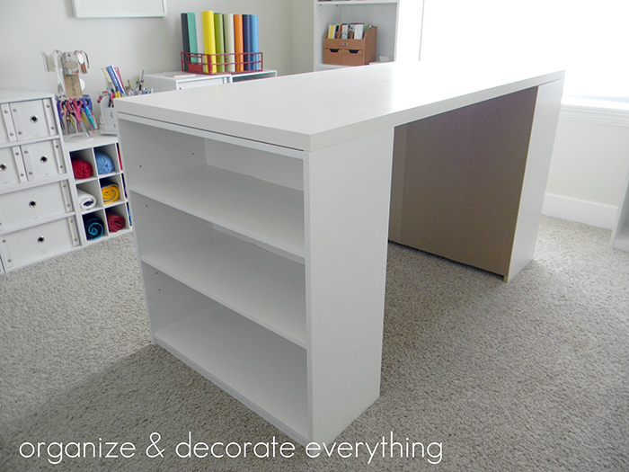 DIY craft and cutting table tutorial