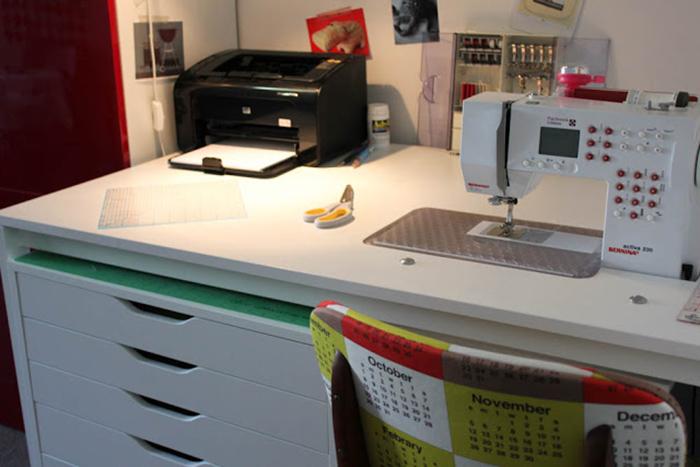 DIY sewing table - Ikea Hack