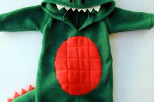 Sew a baby dino costume