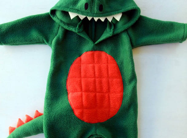 Sew a baby dino costume