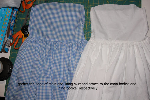 Dorothy costume tutorial