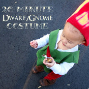 20 minute dwarf/gnome costume tutorial