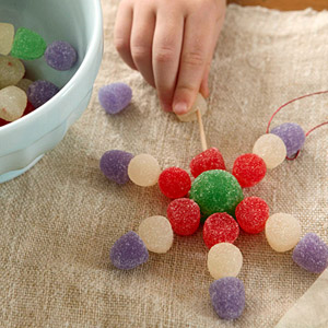 homemade candy ornament ideas - see them all!
