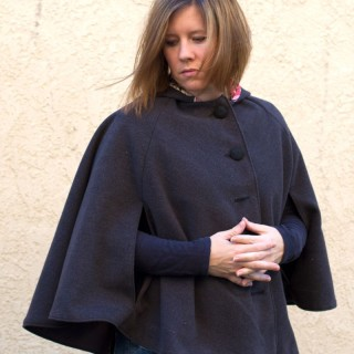 A cape for women?
