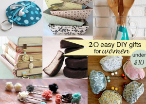 20 DIY gifts for women. Make these for under $10!