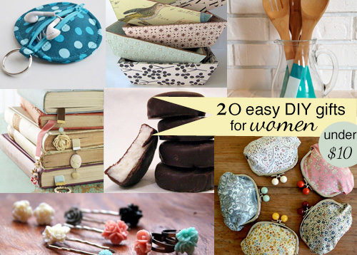 20 DIY Gifts For Women