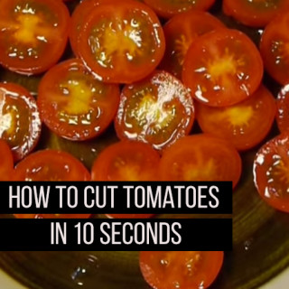 Cut Tomatoes in Seconds
