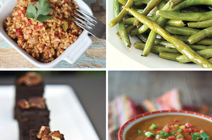 EAT CLEAN - Tons of crock pot recipes for side dishes