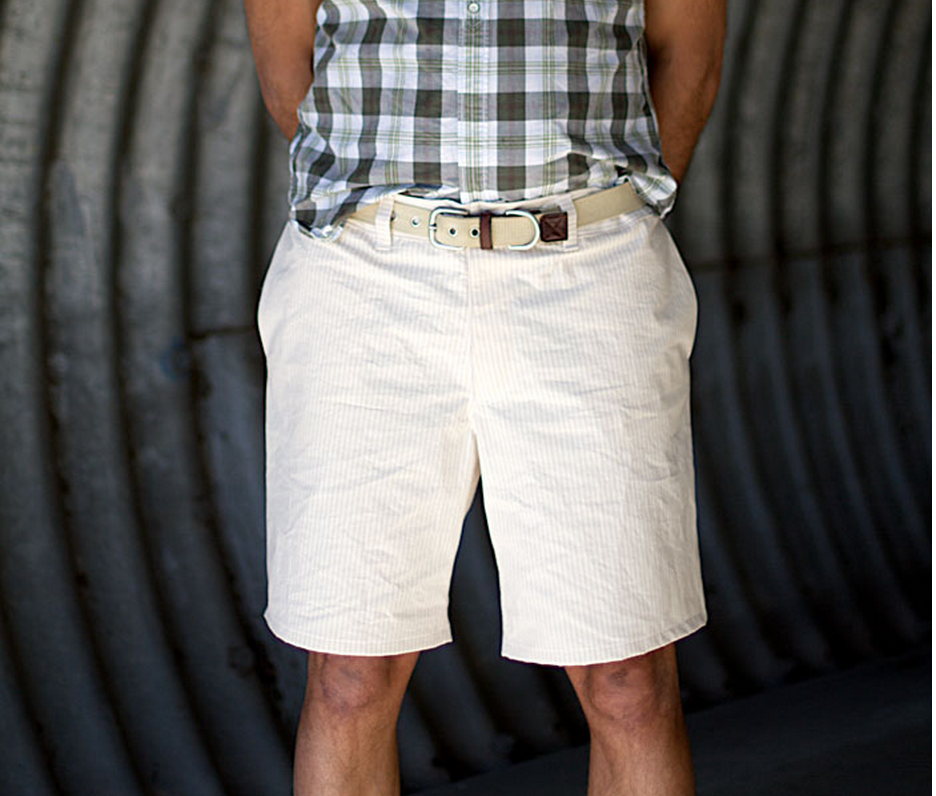 Sewing for Men: Man Shorts - Andrea\'s Notebook