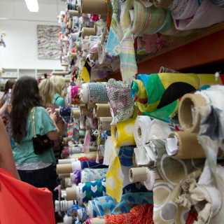 Where to fabric shop in L.A.