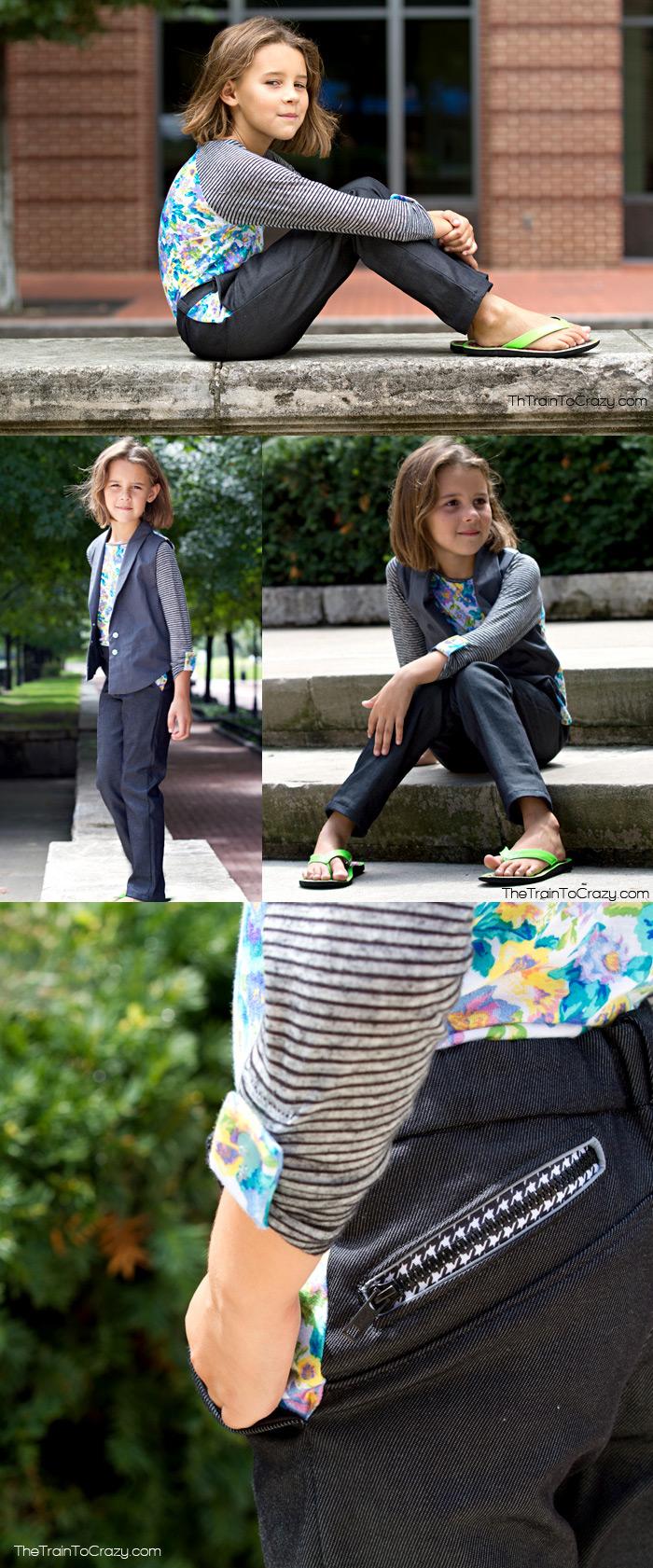 adorable school clothes patterns!