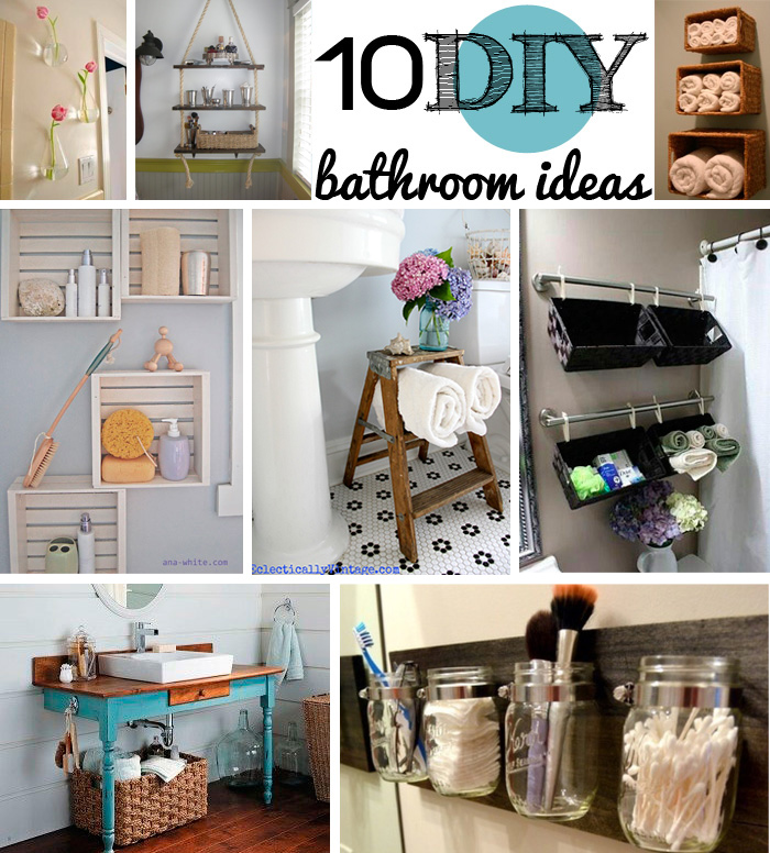 Bathroom Diy Ideas: DIY Toilet Paper Holders To Make For Your Home