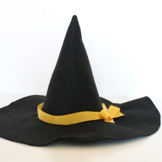 Handmade Costume Series: DIY Witch Hat Tutorial
