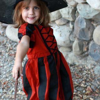 Handmade Costume Series: Pumpkin Witchy Dress