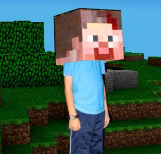 minecraft costume tutorial
