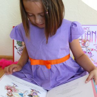 Handmade Costume Series: Fancy Nancy Costume Tutorial