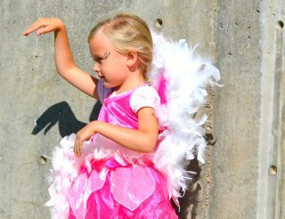Handmade Costume Series: DIY Fairy to Flamingo costume tutorial