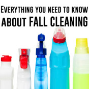 Lots of fall cleaning checklists & tips!
