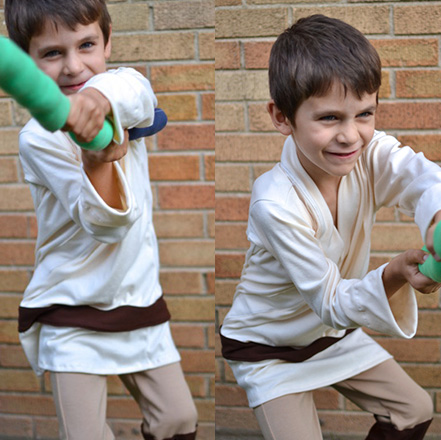 Luke Skywalker Costume Tutorial