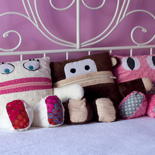 Sewing gifts for kids: Pajama Eaters