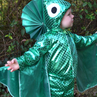 Handmade Costume Series: DIY Fish Costume Tutorial