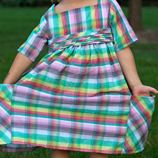 Sally Dress Tour (girls dress pattern)