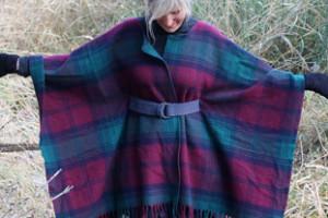 DIY blanket coat