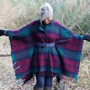 DIY blanket coat