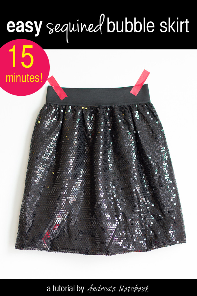 Easy bubble skirt tutorial!