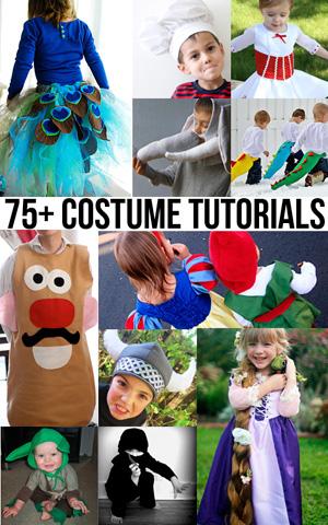 75 DIY costume tutorials