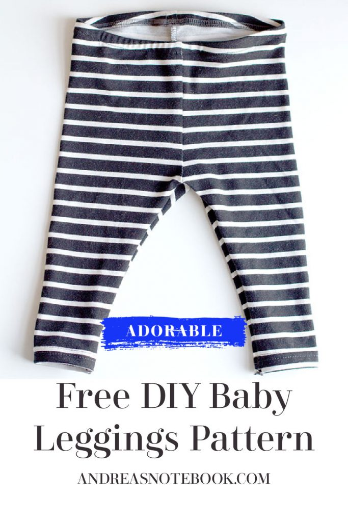 Free DIY Baby Leggings Sewing Pattern