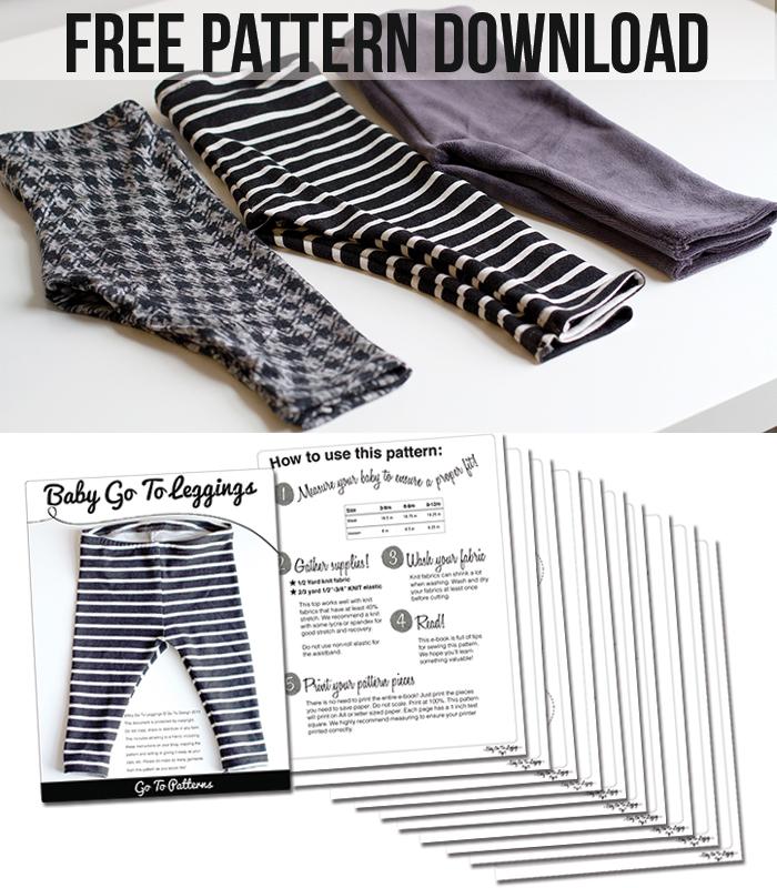 Free Baby Leggings Pattern! - Andrea's Notebook