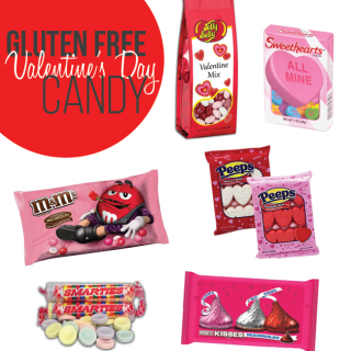Gluten Free Candy for Valentine's Day
