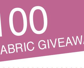 Win $100 worth of fabric!
