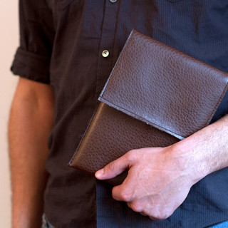 Simple pleather tablet case tutorial