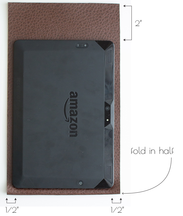 tablet cover tutorial