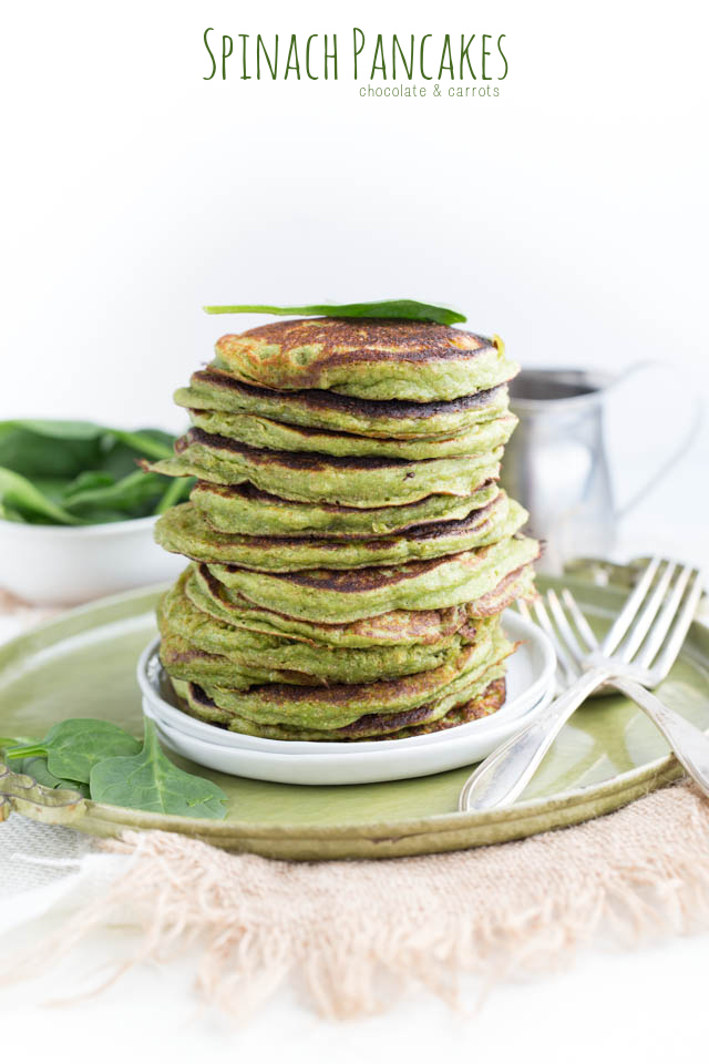 Spinach pancakes and tons of other healthier pancake options