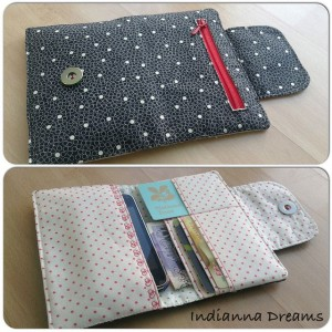 The best diy wallet tutorials andreas notebook wallet tutorial solutioingenieria Choice Image