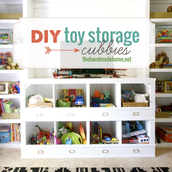 Build your own toy cubbies and dozens of other great DIY toy storage ...